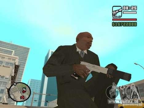 Silverballer zum Schweigen gebracht von Hitman für GTA San Andreas zweiten Screenshot