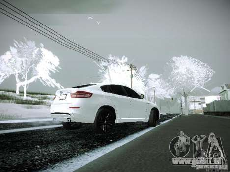 BMW X6M E72 für GTA San Andreas linke Ansicht