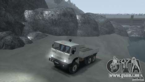 KAMAZ 4310 pour GTA 4 est une gauche