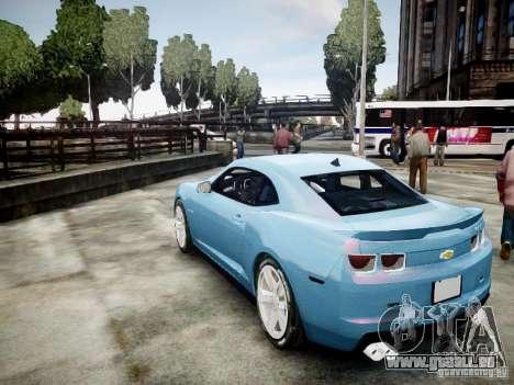 Chevrolet Camaro ZL1 pour GTA 4 est une gauche