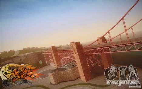 New Golden Gate bridge SF v1.0 pour GTA San Andreas sixième écran