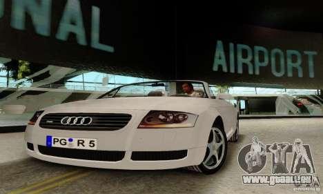 Audi TT Roadster pour GTA San Andreas