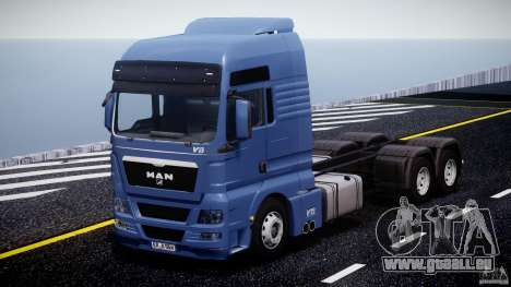 MAN TGX V8 6X4 für GTA 4