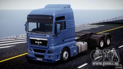 MAN TGX V8 6X4 pour GTA 4