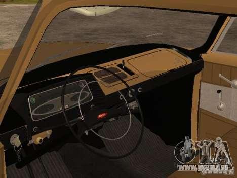 Moskvitch 408 Elite für GTA San Andreas rechten Ansicht