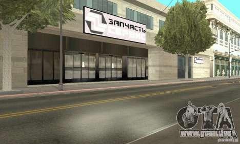 Fünf Sterne und Spare part Service für GTA San Andreas