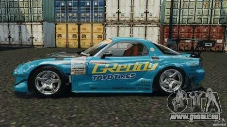 Mazda RX-7 RE-Amemiya v2 für GTA 4 linke Ansicht