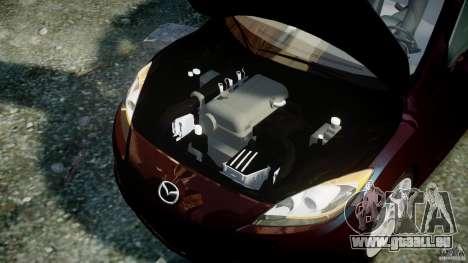Mazda Speed 3 [Beta] pour GTA 4 est un droit