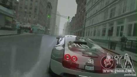 Bugatti Veyron 16.4 Super Sport pour GTA 4 est une vue de l'intérieur