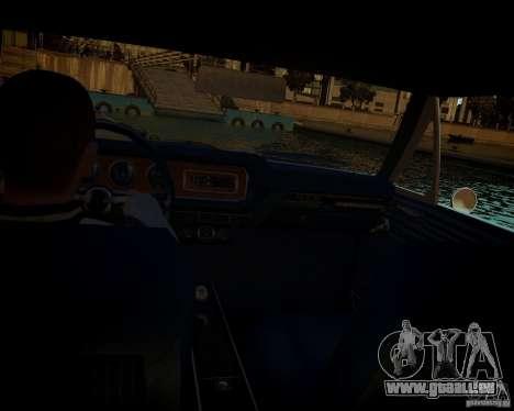 Pontiac GTO DF pour GTA 4 est une vue de dessous
