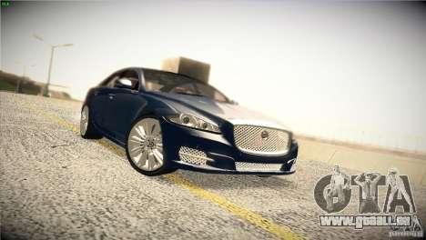 Jaguar XJ 2010 V1.0 pour GTA San Andreas vue de dessous