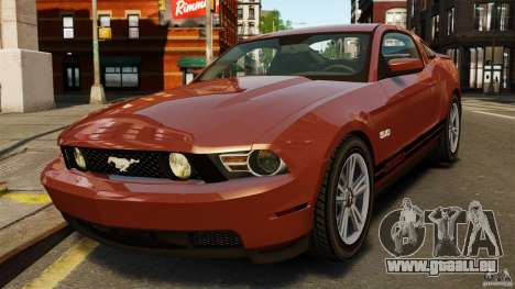 Ford Mustang GT 2011 pour GTA 4