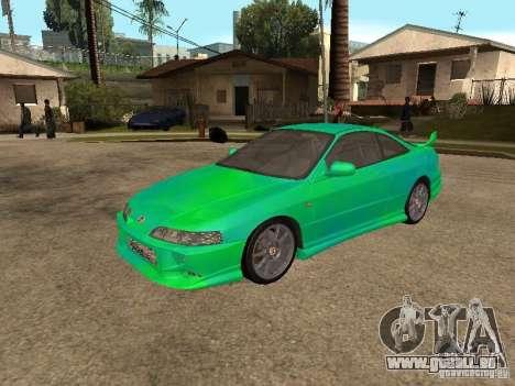 Honda Integra 2000 für GTA San Andreas obere Ansicht