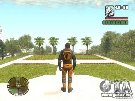 Gordon Freemen pour GTA San Andreas deuxième écran