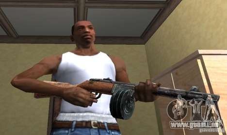 PPSH-41 für GTA San Andreas