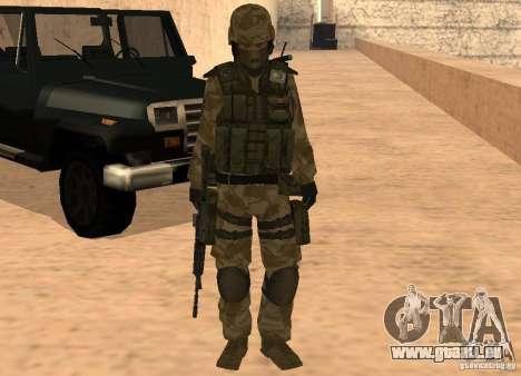 Ranger Army Skin Mod für GTA San Andreas