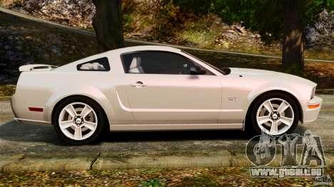 Ford Mustang GT 2005 pour GTA 4 est une gauche