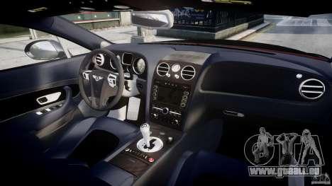 Bentley Continental SS 2010 Le Mansory [EPM] pour GTA 4 vue de dessus