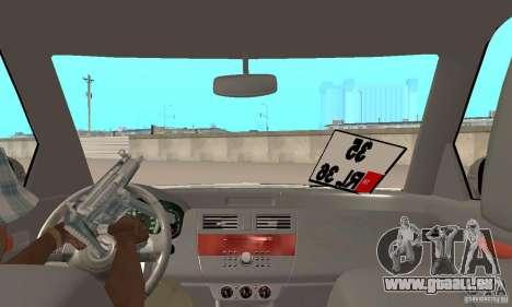 Suzuki Swift Tuning pour GTA San Andreas vue arrière