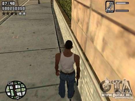 HUD by Neo40131 pour GTA San Andreas deuxième écran