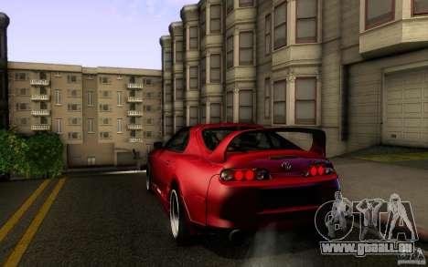 Toyota Supra D1 1998 pour GTA San Andreas vue de droite