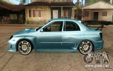 Subaru Impreza STI für GTA San Andreas linke Ansicht