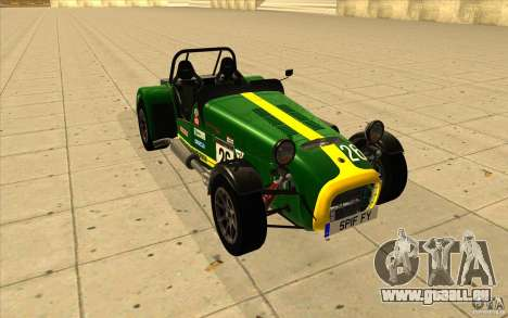 Caterham Superlight R500 für GTA San Andreas Innen