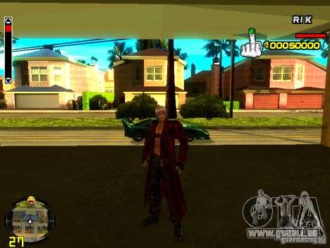 Dante pour GTA San Andreas
