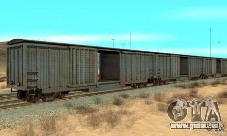 Wagon für GTA San Andreas linke Ansicht