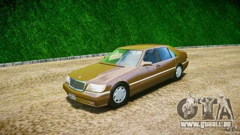 Mercedes Benz SL600 W140 98 performance shafter pour GTA 4