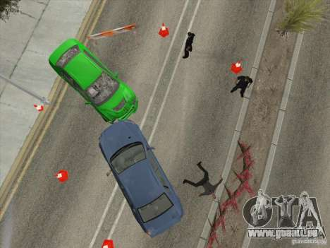 Unfall auf der Straße für GTA San Andreas fünften Screenshot