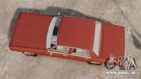 Chevrolet Caprice Classic 1979 pour GTA 4 est un droit