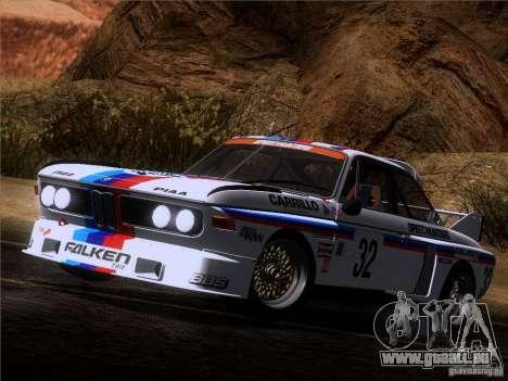 BMW CSL GR4 pour GTA San Andreas vue de côté