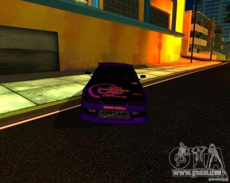 Nissan Silvia C-West pour GTA San Andreas laissé vue
