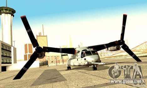 MV-22 Osprey für GTA San Andreas rechten Ansicht