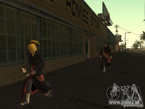 The Akatsuki gang für GTA San Andreas sechsten Screenshot