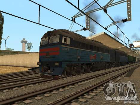 Eisenbahn-Änderung III für GTA San Andreas dritten Screenshot