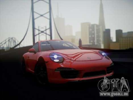 Porsche 911 (991) Carrera S pour GTA San Andreas