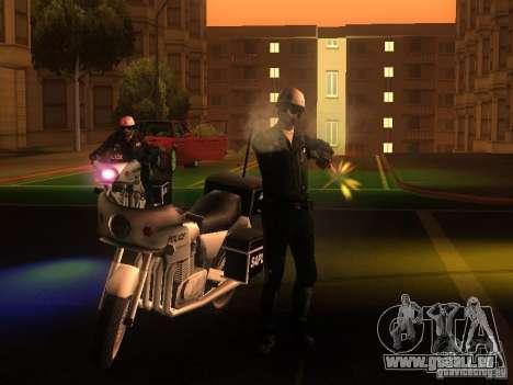 Neue Einstellungen für Polizisten für GTA San Andreas