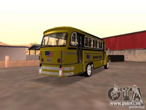 Bedford School Bus pour GTA San Andreas vue de droite