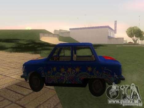 Hippie ZAZ pour GTA San Andreas laissé vue