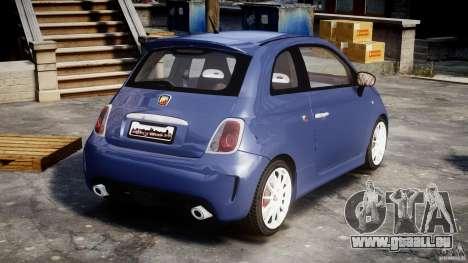 Fiat 500 Abarth SS für GTA 4 Seitenansicht
