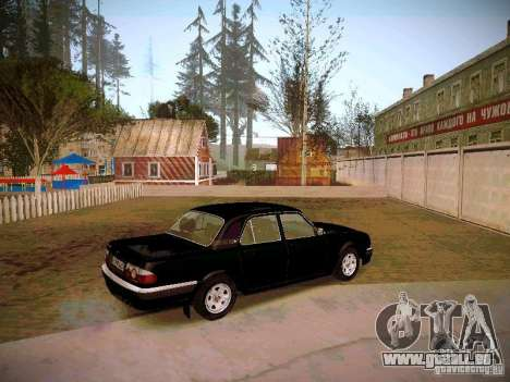GAZ Volga 31105 S60 pour GTA San Andreas vue de droite