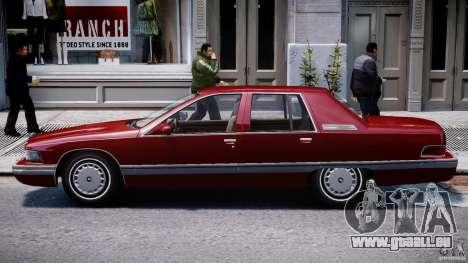 Buick Roadmaster Sedan 1996 v 2.0 pour GTA 4 Vue arrière de la gauche