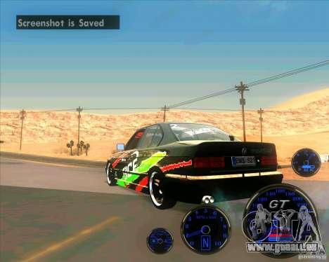 BMW E34 V8 - Darius Balys für GTA San Andreas linke Ansicht