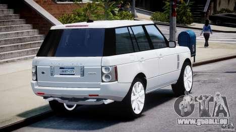 Range Rover Supercharged 2009 v2.0 für GTA 4 Seitenansicht