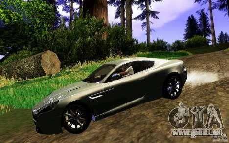 Aston Martin Virage V1.0 für GTA San Andreas rechten Ansicht