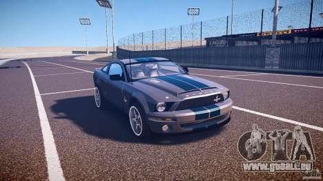 Shelby GT500kr für GTA 4 Innenansicht