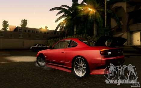 Nissan Silvia S15 Drift Style für GTA San Andreas linke Ansicht