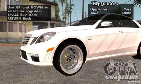 Wheels Pack by EMZone pour GTA San Andreas quatrième écran